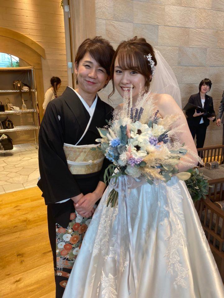 娘の結婚式。親の気持ち。の画像